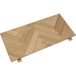 Brips Esstisch Eiche furniert braun Tisch Küchentisch Esszimmertisch Esszimmer - Bild 1