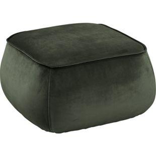 Mollar Pouf dunkelgrün Hocker Sitzpuff Sitzhocker Sitzpouf Bodenkissen Schemel - Bild 1