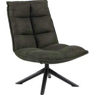 Stump Sessel grün Esszimmer Stuhl Wohnzimmer Clubsessel Cocktailsessel Lounge - Bild 1