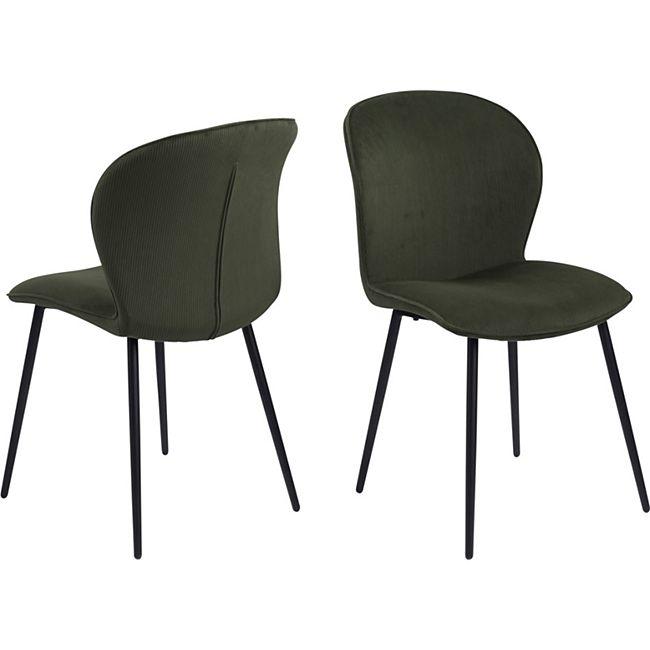 2x Every Esszimmerstuhl grün Stuhl Set Esszimmer Stühle Küchenstuhl Küche - Bild 1