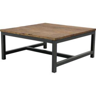 Violet Ulme Couchtisch Ecktisch Wohnzimmer Beistelltisch Tisch Wohnzimmertisch - Bild 1