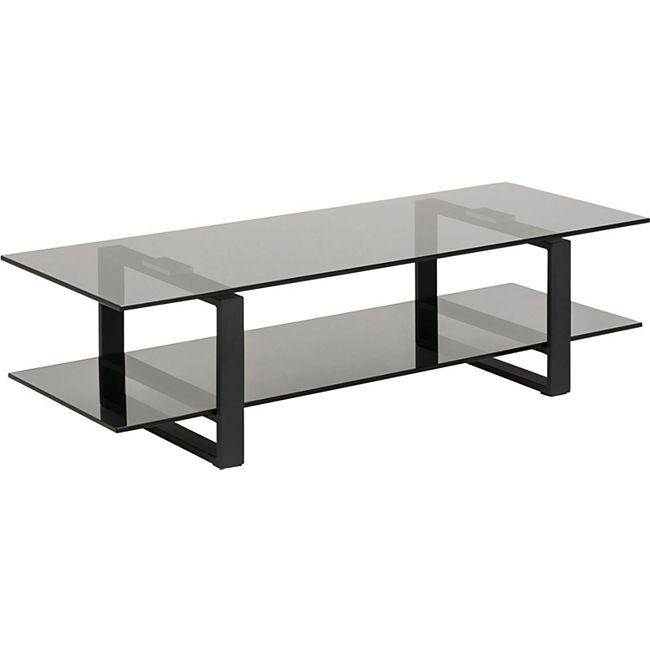 Kamma  TV Tisch grau Lowboard Schrank Kommode Fernsehschrank Wohnzimmer - Bild 1
