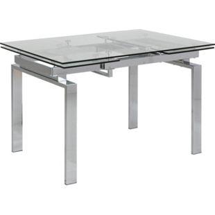Hummar Esstisch 120/200 + 2 Zusatzplatten klar Tisch Küchentisch Esszimmertisch - Bild 1