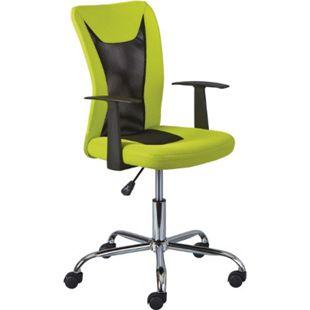 Dons Bürostuhl grün Computerstuhl Chefsessel Schreibtischstuhl Büro  Sessel - Bild 1