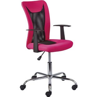 Dons Bürostuhl pink Computerstuhl Chefsessel Schreibtischstuhl Büro  Sessel - Bild 1