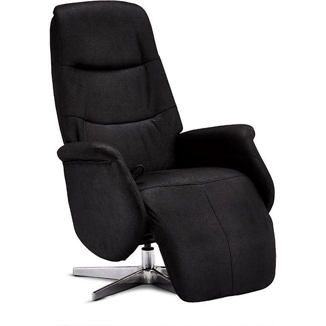 Dode Recliner Sessel schwarz Fernsehsessel Relaxsessel Liegesessel Liegestuhl - Bild 1