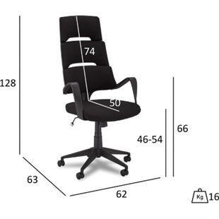 Doro Bürostuhl schwarz Computerstuhl Chefsessel Schreibtischstuhl Büro  Sessel - Bild 1