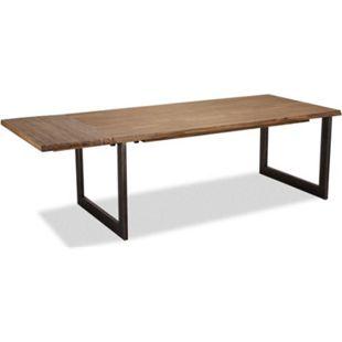 Maro Zusatzplatte 50x100 braun Akazie Tisch Küchentisch Esszimmertisch Esszimmer - Bild 1