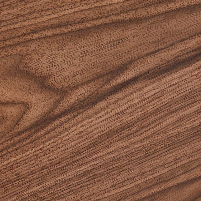 Tori Sideboard 4 Schubladen 4 Türen Wallnuss Furnier schwarz Kommode Schrank - Bild 1