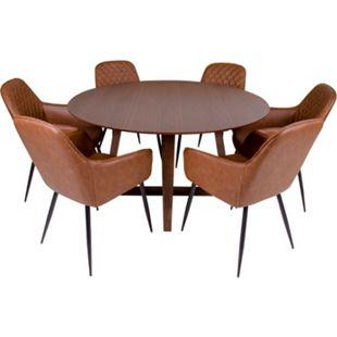 Hello 6+1 Esszimmergruppe Tisch Stühle Sitzgruppe Essgruppe Esszimmergarnitur - Bild 1