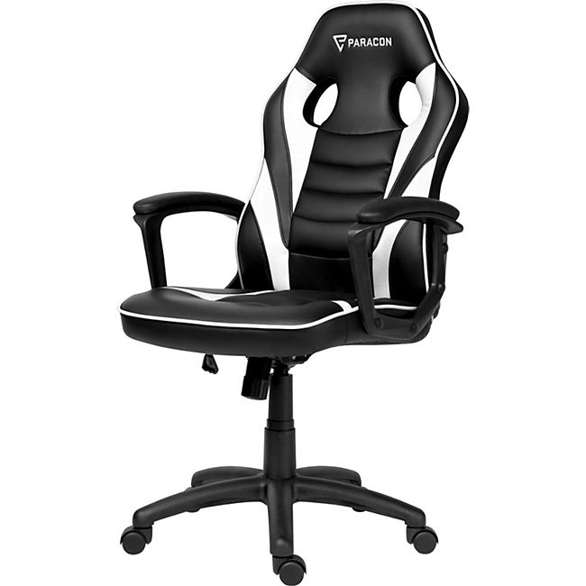Paracon Squire Gaming Computerstuhl Bürostuhl Gamer Stuhl Sessel Racing weiss - Bild 1
