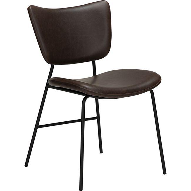 2x Kunstleder Esszimmerstuhl Danform Küchenstuhl Stuhl  Set Polsterstuhl kako - Bild 1
