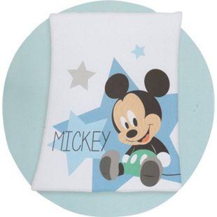 Disney Babydecke Mickey Mouse Flauschdecke Kuscheldecke Krabbel Decke Tagesdecke - Bild 1