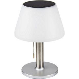 Solar LED Tischlampe 3-stufig Garten Leuchte Deko Tischleuchte Lampe warmweiß - Bild 1