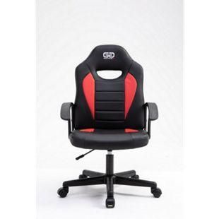 Good Game Gaming Computerstuhl schwarz rot Bürostuhl Drehstuhl Gamer Sessel - Bild 1