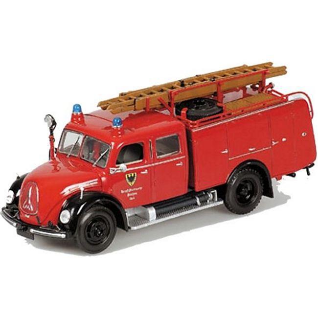 Magirus-Deutz Merkur TLF 16 Feuerwehr 1:43 Minichamps - Bild 1