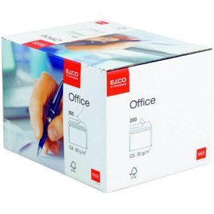 200x ELCO C6 Briefumschlag Versandtasche Umschlag Brief Versandumschlag Kuvert - Bild 1