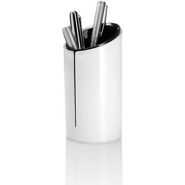 Sigel Design Eyestyle Stifteköcher Stiftehalter Stiftebecher hochglanz weiss - Bild 1