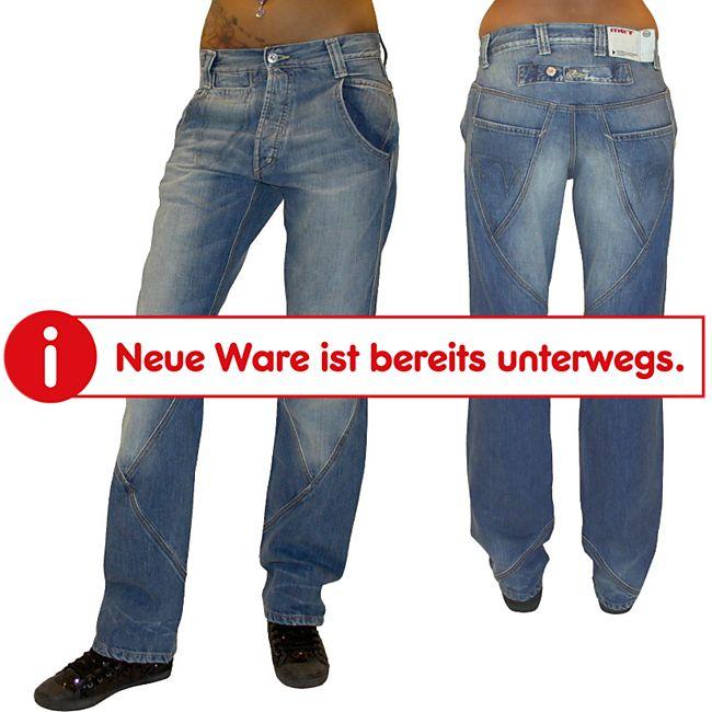 MET Damen Baggy Jeans Pantaloni dunkelblau - Gr. 30/34 - Bild 1