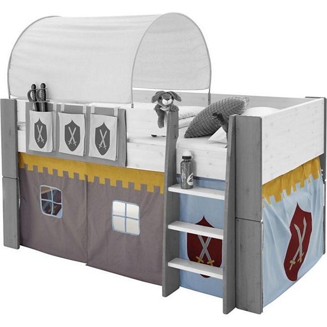 Molly Kids Ritter Vorhang Vorhänge für Hochbett Spielbett Kinderbett Stockbett - Bild 1