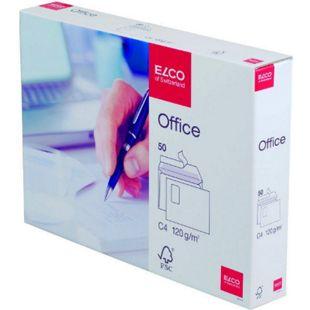 50x ELCO C4 Briefumschlag m. Fenster Versandtasche Versandumschlag Brief Kuvert - Bild 1