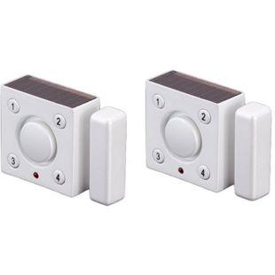 2x Cordes solarbetriebener Vibrations Magnet Alarm CC-800 Solar Alarmanlage - Bild 1