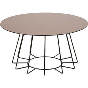 PKline Couchtisch Tisch Beistelltisch Wohnzimmertisch rund Glas Sofatisch - Bild 1