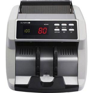 OLYMPIA NC 540 Geldschein Zähler mit UV/MG Test und LED Display - Bild 1