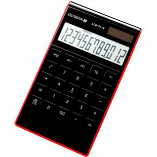 OLYMPIA LCD 3112 Tischrechner, Schwarz - Bild 1