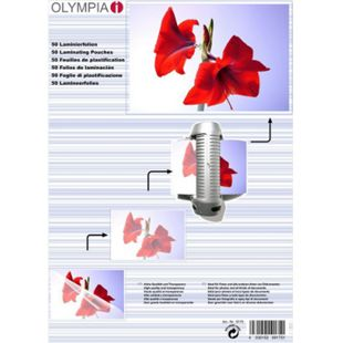 OLYMPIA Laminierfolie, DIN A3, 125 Mikron, 50 Stück - Bild 1