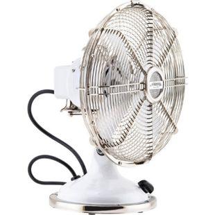 HKoenig JOE50 Tisch Ventilator Retro, Weiß - Bild 1