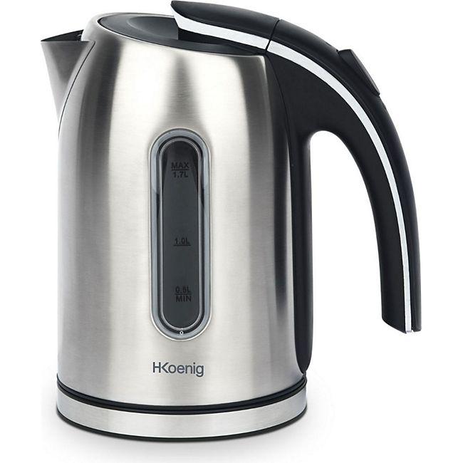 HKoenig BO17 Edelstahl Wasserkocher, 1,7 L, 2200 W - Bild 1