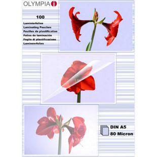 OLYMPIA Laminierfolie, DIN A5, 80 Mikron, 100 Stück - Bild 1