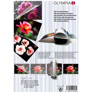 OLYMPIA Laminierfolien-Set, 100 gemischte Folien, 80 Mikron - Bild 1