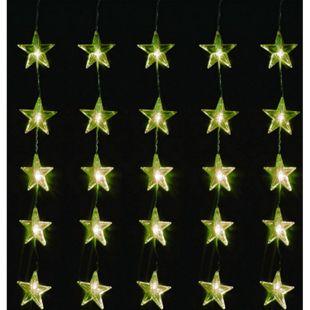 LEX 80er LED Sternenvorhang für Innen und Außen, IP44, 1 m - Bild 1