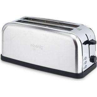 HKoenig TOS28 Edelstahl Langschlitz Toaster, 1500 W - Bild 1