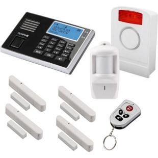 OLYMPIA Protect 9061 GSM Funk Alarmanlagen Super-Set mit Außensirene - Bild 1