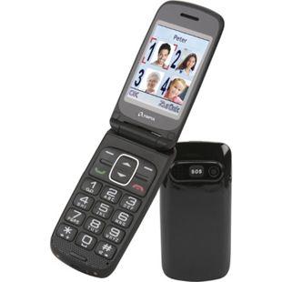 OLYMPIA Seniorenhandy Primus Senioren Komfort Mobiltelefon, große Tasten, Anthrazit - Bild 1