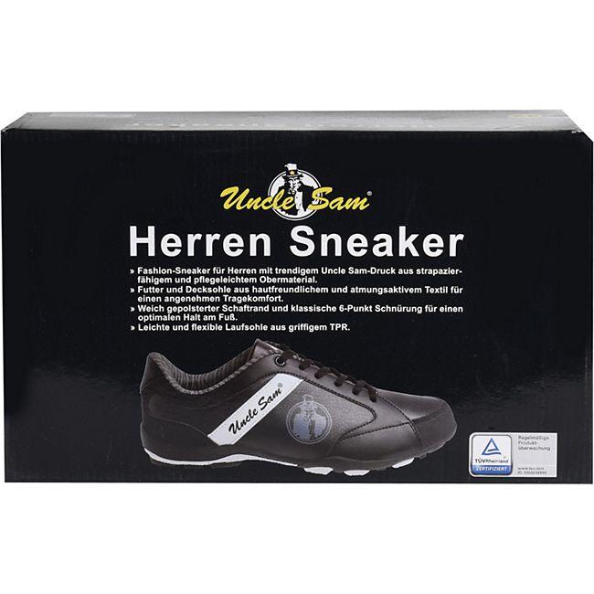 UNCLE SAM Herren Sneaker, Braun