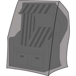 LEX Schutzhülle für Strandkörbe, 130 x 100 x 170/134 cm, Tragetasche - Bild 1