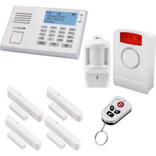 OLYMPIA Protect 9061 GSM Funk Alarmanlage Super-Set, Weiß - Bild 1