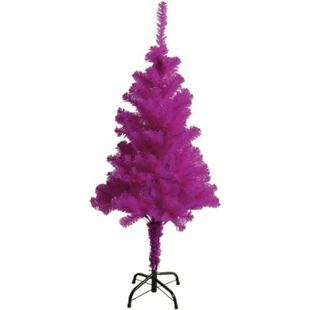 LEX Künstlicher Weihnachtsbaum inkl. Ständer, Farbe Lila, 150 cm - Bild 1