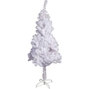 LEX Künstlicher Weihnachtsbaum inkl. Ständer, Weiß, 120 cm - Bild 1