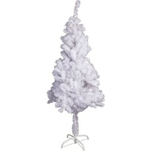 LEX Künstlicher Weihnachtsbaum inkl. Ständer, Weiß, 180 cm - Bild 1