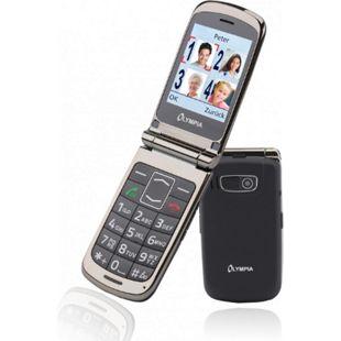 OLYMPIA Style Plus Senioren Komfort Mobiltelefon mit Großtasten, Schwarz - Bild 1