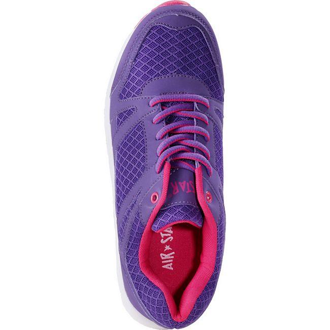 AIR STAR Damen Sportschuh, ViolettPink38 violettpink