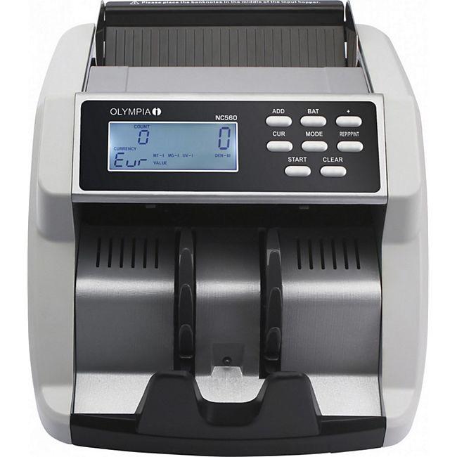 OLYMPIA NC 560 Wertezähler mit UV/MG/MT Test und LCD Display - Bild 1