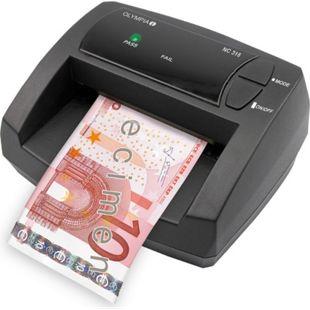 OLYMPIA NC 315 Geldscheinprüfgerät, manueller Wertezähler - Bild 1