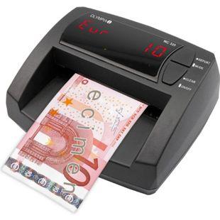 OLYMPIA NC 325 Geldscheinprüfgerät, manueller Wertezähler - Bild 1