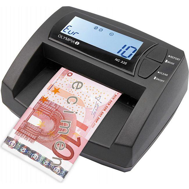 OLYMPIA NC 335 Geldscheinprüfgerät, Wertezähler - Bild 1